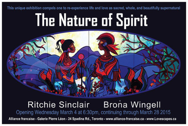The Nature of Spirit exhibition – Galerie Pierre Léon – Ritchie Sinclair & Brona Wingell