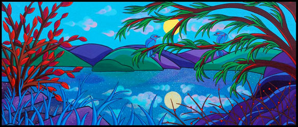 Reflections on Spirit Island (2014) Brona Wingell